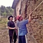 ``Vrabioi`` & Doru repara zidul nordic