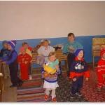 Impreuna cu parintii si copii in prima zi de gradinita